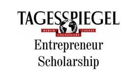 Tagesspiegel Entrepreneur Scholarship 2016