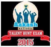 Aakash National Talent Hunt Senior Exam 2015