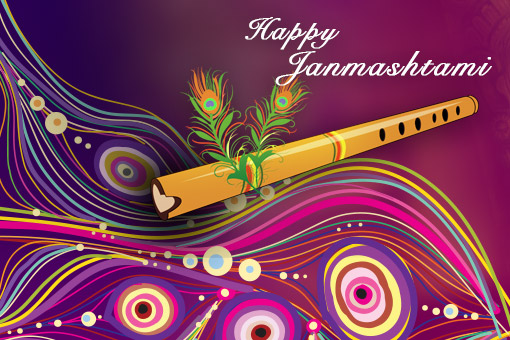 Design e-Greetings for Janmashtami 2015