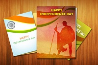 Design e-Greetings for the Independence Day 2015