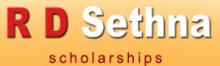 R D Sethna Scholarship 2016