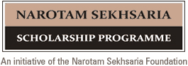 Narotam Sekhsaria Scholarship Programme 2016