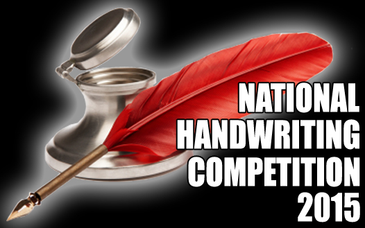 NATIONAL HANDWRITING COMPETITION 2015