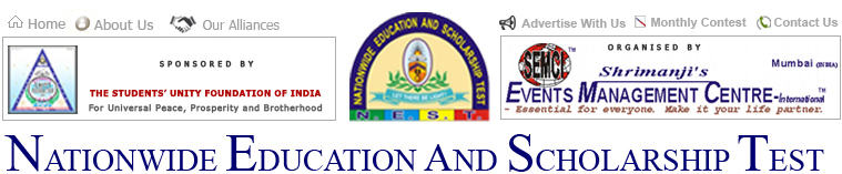 15th Nationwide Education and Scholarship Test (NEST)-2016
