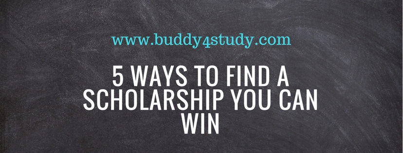 5 ways to find scholarships you could win