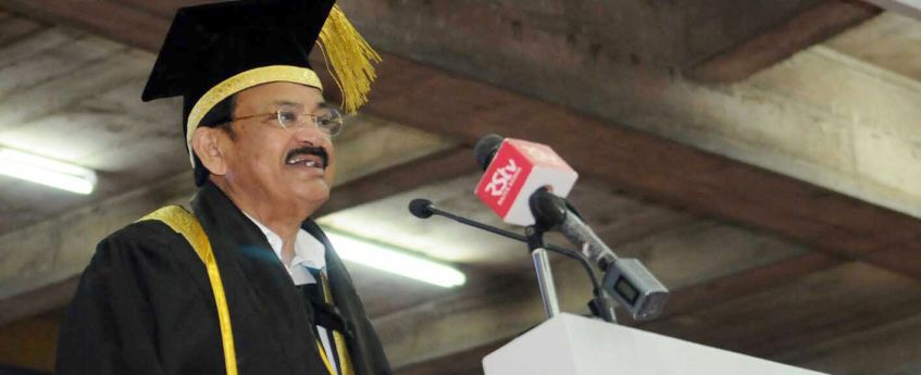 Vice President Naidu urges all to address challenges in education