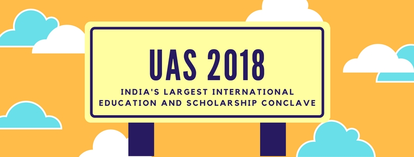 UAS 2018 - India's largest international education and scholarship conclave [Infographic]