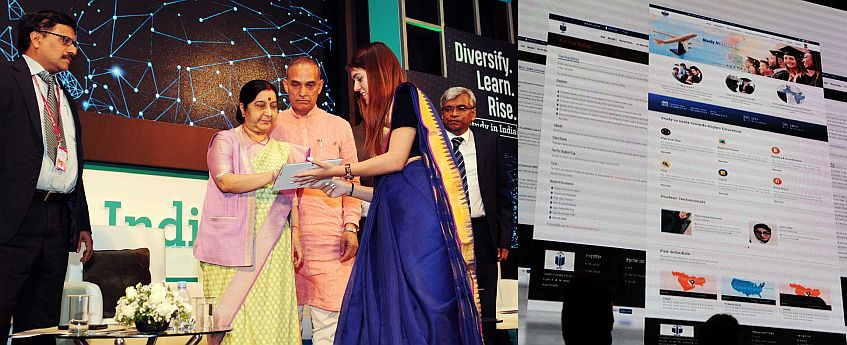 Govt launches 'Study in India' portal to woo foreign students
