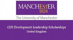 Global Development Leadership Scholarship 2017