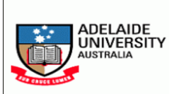 Adelaide Graduate Research Scholarships (AGRS) 2017
