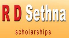 R D Sethna Scholarship 2017
