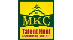 MKC Talent Hunt and Scholarship Exam 2016