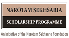 Narotam Sekhsaria Scholarship 2017