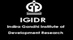 Indira Gandhi Institute of Development Research Fellowship 2017