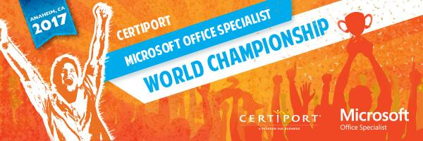 Microsoft Office World Championship 2017