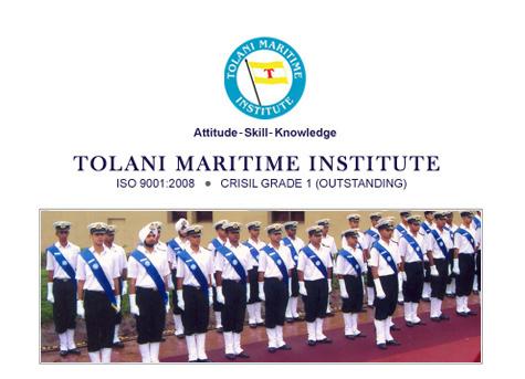 Tolani Maritime B.Tech Nautical Engineering Scholarship 2017