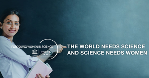 L'Oreal India For Young Women in Science Scholarship 2019